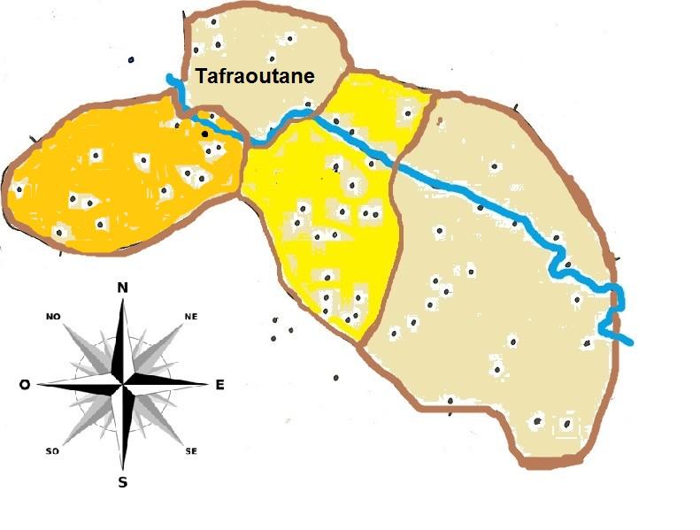 Carte de Tafraoutane