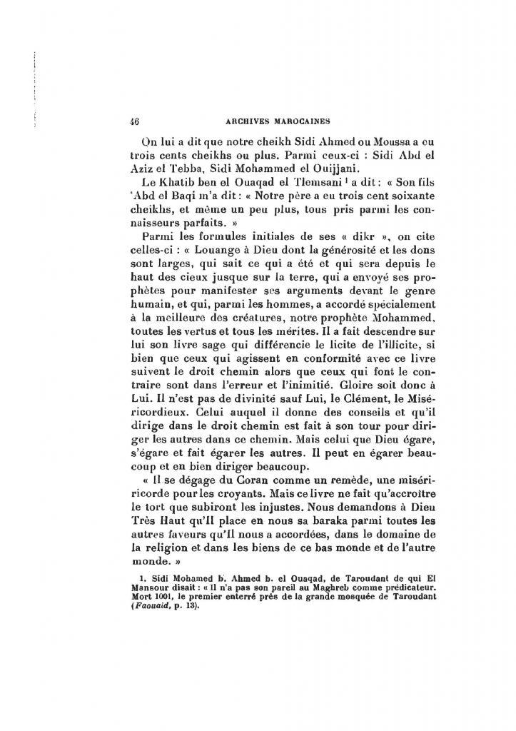 Archives Marocaines, 28 et 29 sidi ahmed ou moussa_Page_045