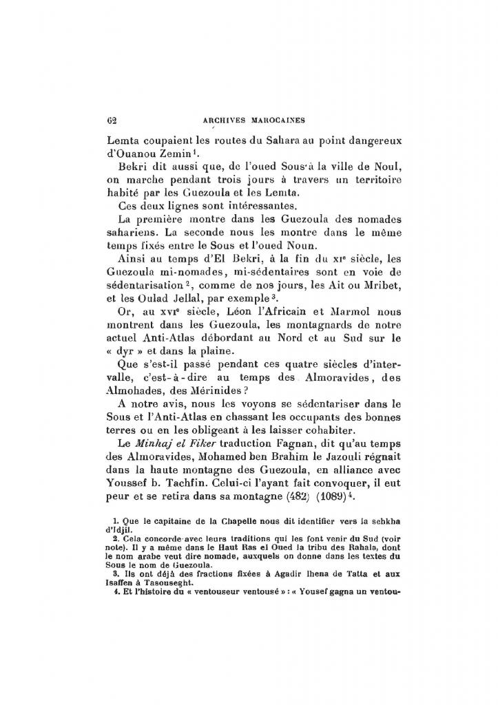 Archives Marocaines, 28 et 29 sidi ahmed ou moussa_Page_062