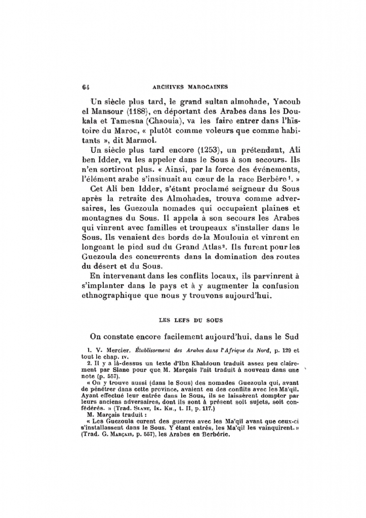 Archives Marocaines, 28 et 29 sidi ahmed ou moussa_Page_064
