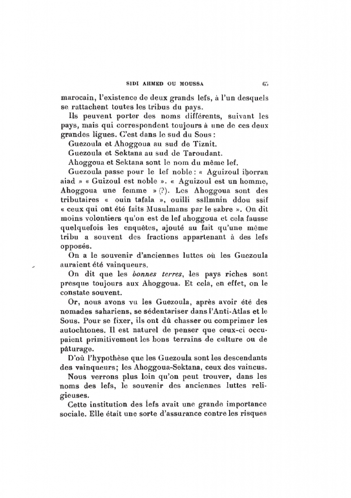 Archives Marocaines, 28 et 29 sidi ahmed ou moussa_Page_066