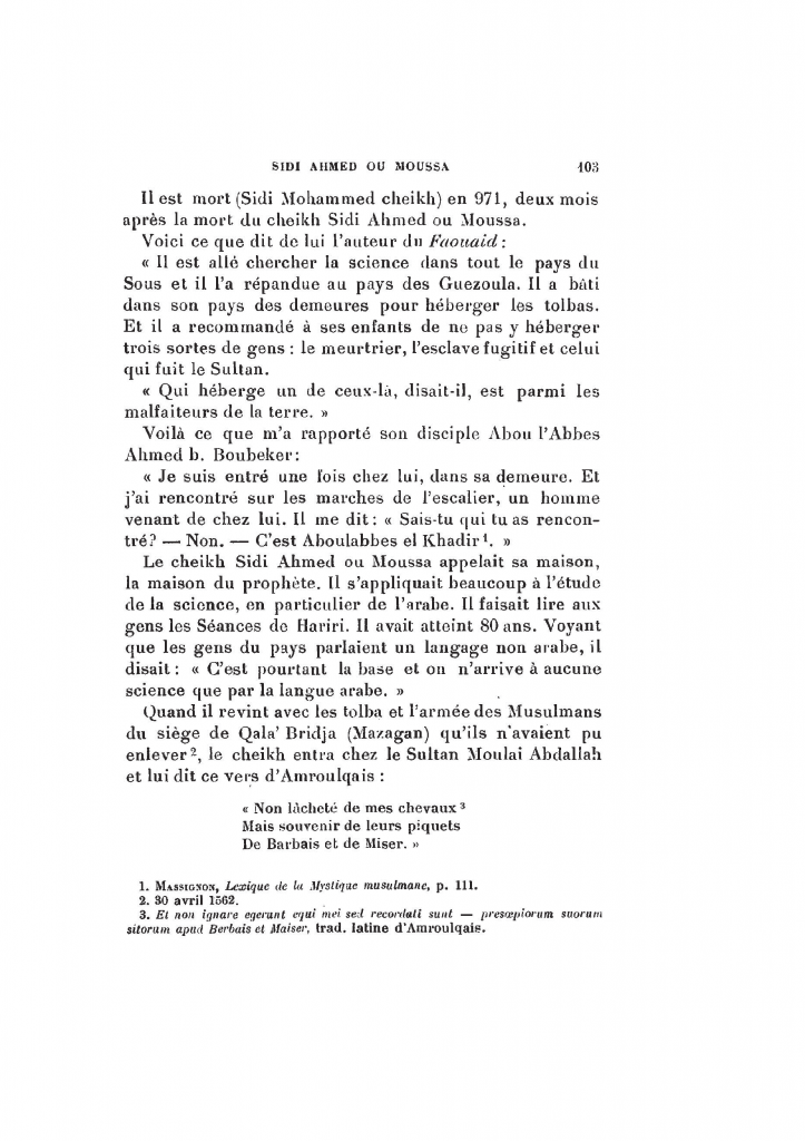 Archives Marocaines, 28 et 29 sidi ahmed ou moussa_Page_104