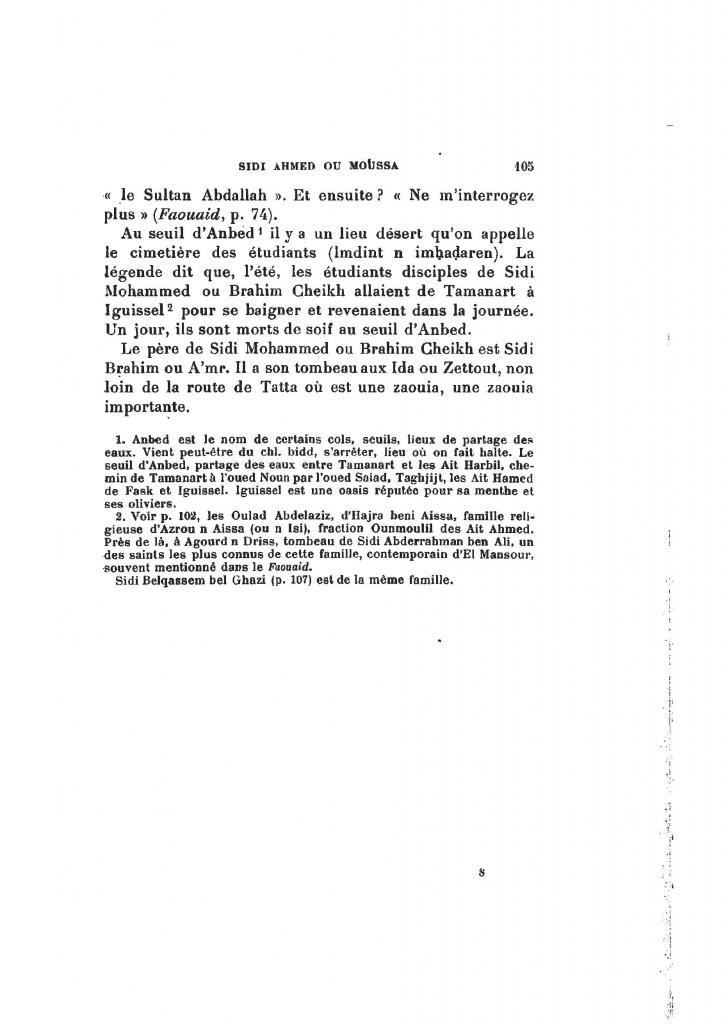 Archives Marocaines, 28 et 29 sidi ahmed ou moussa_Page_106