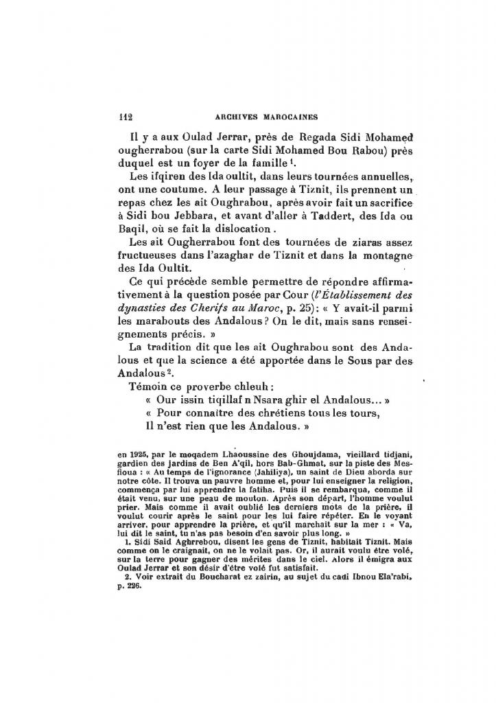 Archives Marocaines, 28 et 29 sidi ahmed ou moussa_Page_113