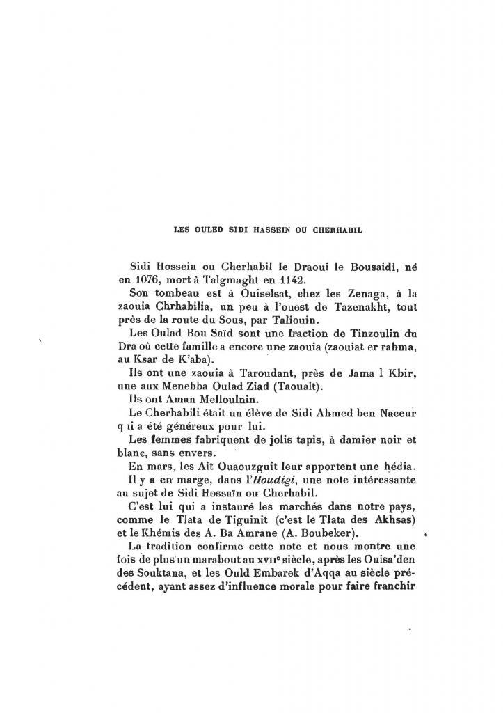Archives Marocaines, 28 et 29 sidi ahmed ou moussa_Page_119