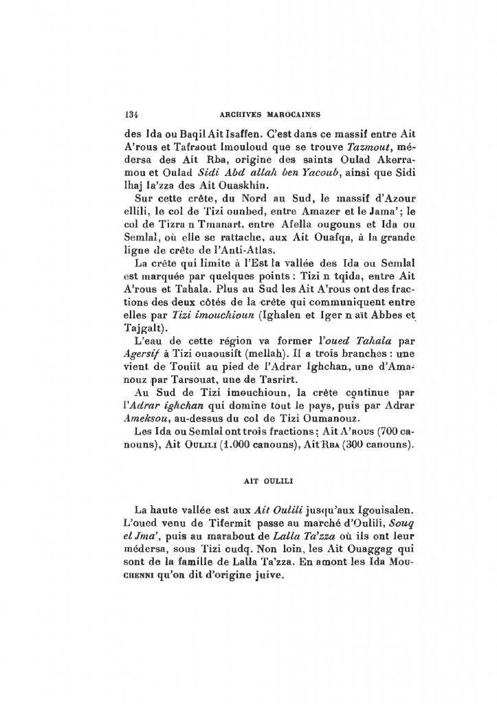 Archives Marocaines, 28 et 29 sidi ahmed ou moussa_Page_135
