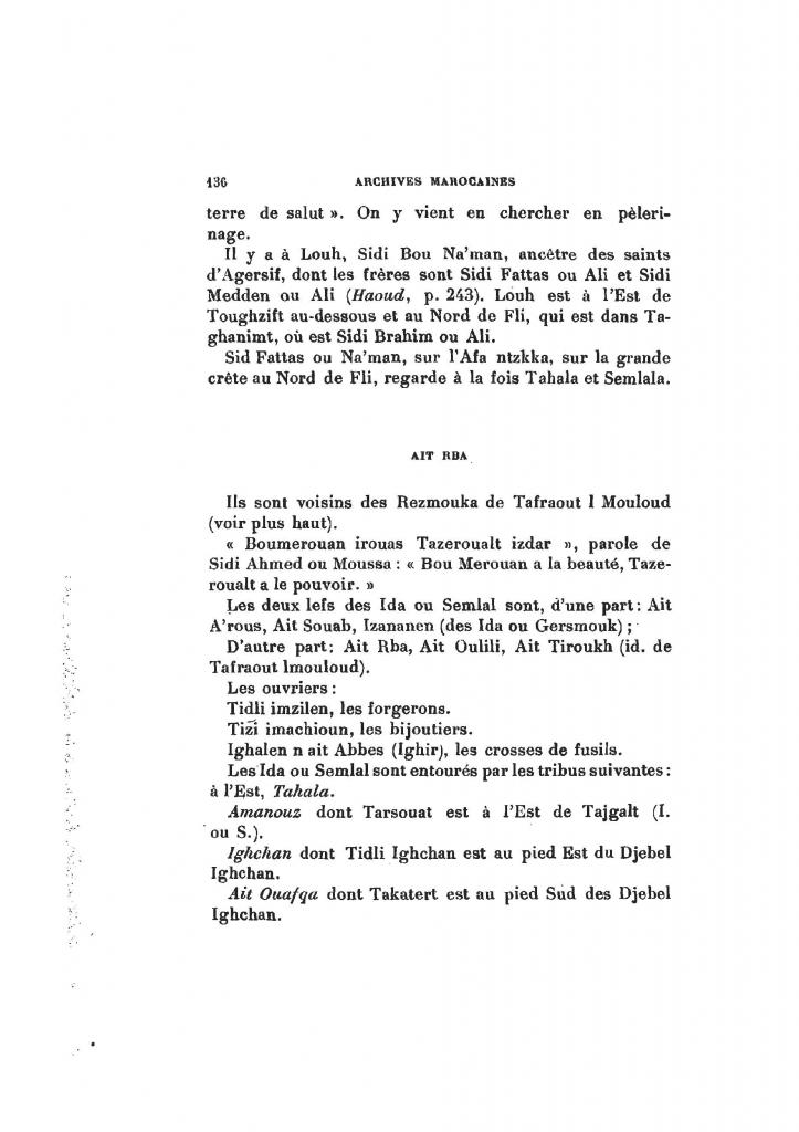 Archives Marocaines, 28 et 29 sidi ahmed ou moussa_Page_137