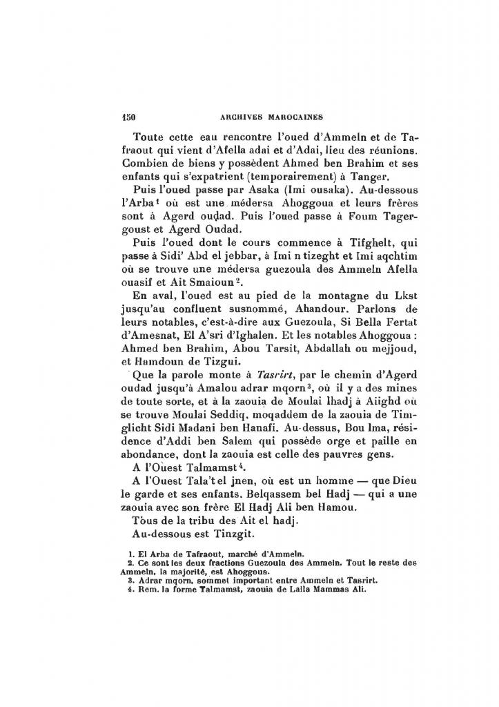 Archives Marocaines, 28 et 29 sidi ahmed ou moussa_Page_151