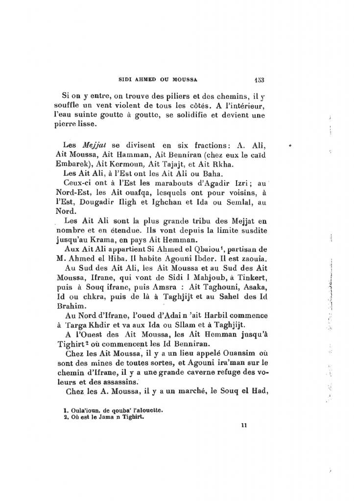 Archives Marocaines, 28 et 29 sidi ahmed ou moussa_Page_155