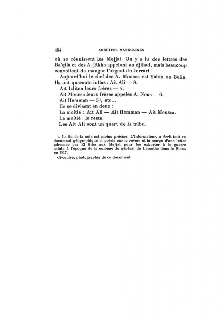 Archives Marocaines, 28 et 29 sidi ahmed ou moussa_Page_156